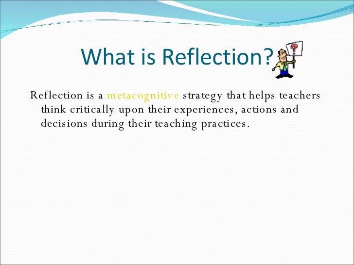 Reflective essay on teaching practicum
