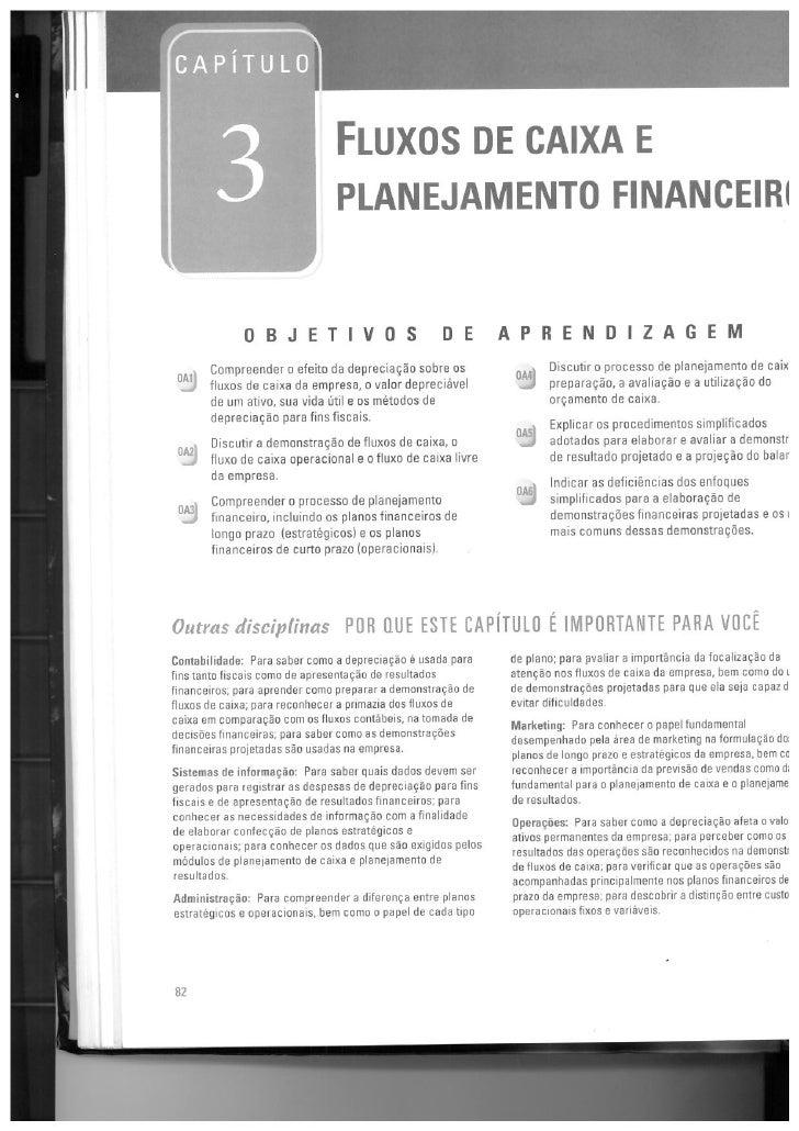 Fluxo de caixa planejamento financeiro