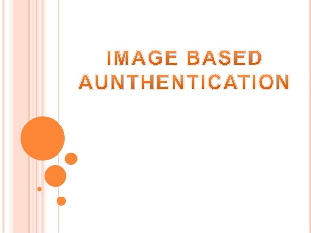Image based authentication