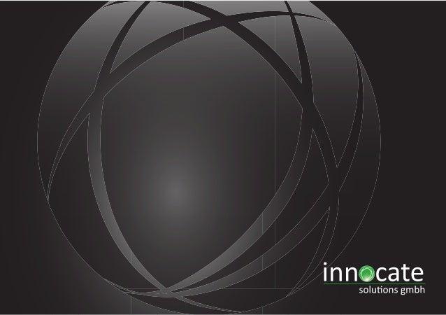 Innocate Imagebroschuere 2013 - http://www.innocate.de/