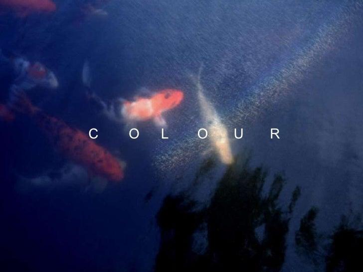 Image colour lecture