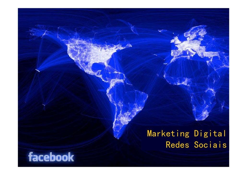 Marketing Digital    Redes Sociais