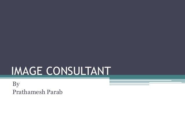 IMAGE CONSULTANT By Prathamesh Parab