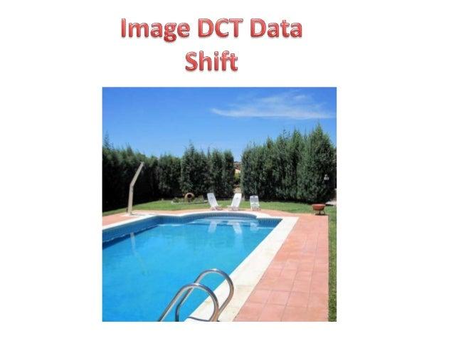Image dct shifting