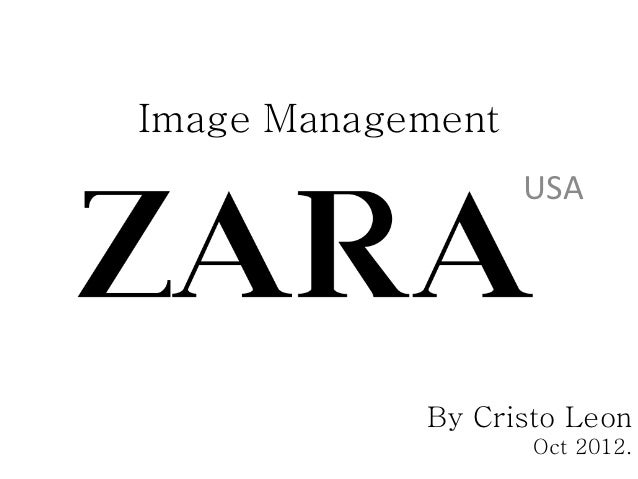 Image Management                   USA            By Cristo Leon                   Oct 2012.