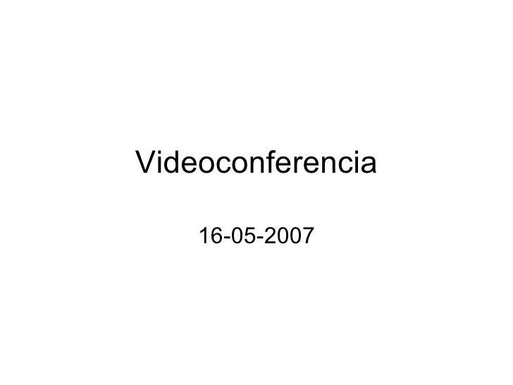 Imagen de la videoconferencia