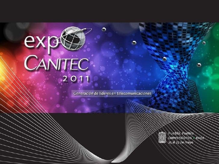Memoria Presentación Expo Canitec 2011