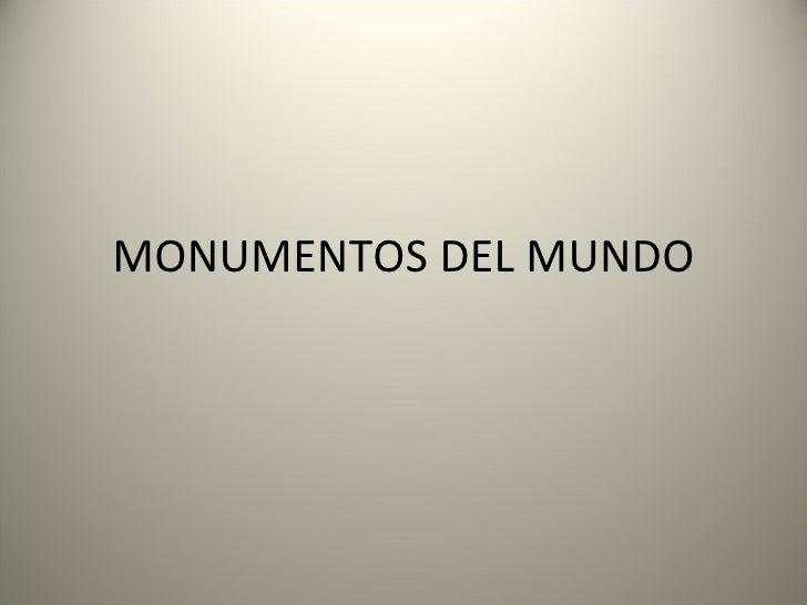 Imagenes Monumentos
