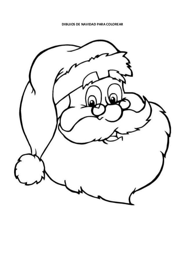 Imagenes de navidad para colorear - Dibujos navidad en color ...