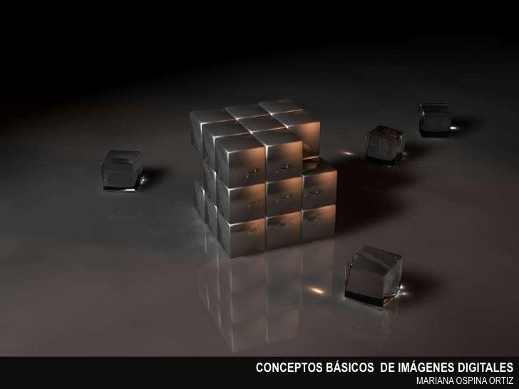 Imagenes digitales   conceptos básicos