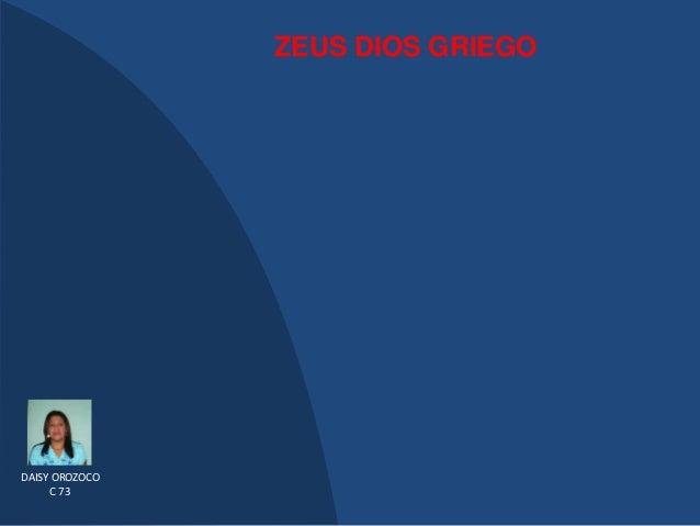 ZEUS DIOS GRIEGODAISY OROZOCO     C 73
