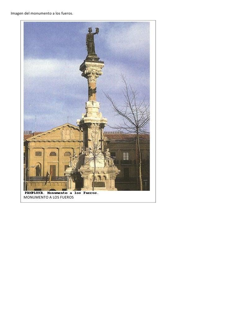 Imagen monumento fueros