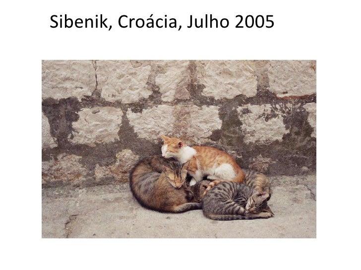 Sibenik, Croácia, Julho 2005<br />