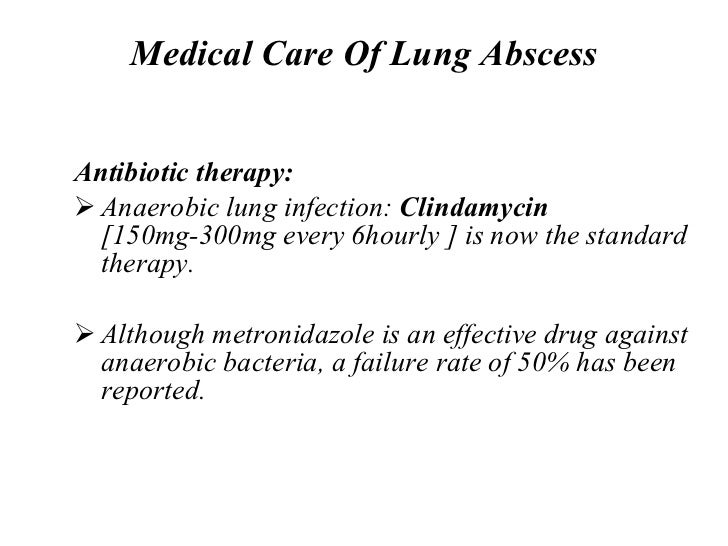 Lung abscess: analysis of 252 consecutive cases diagnosed between ...