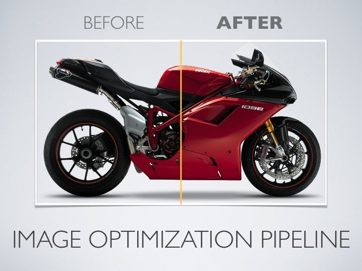 Image optimization pipeline