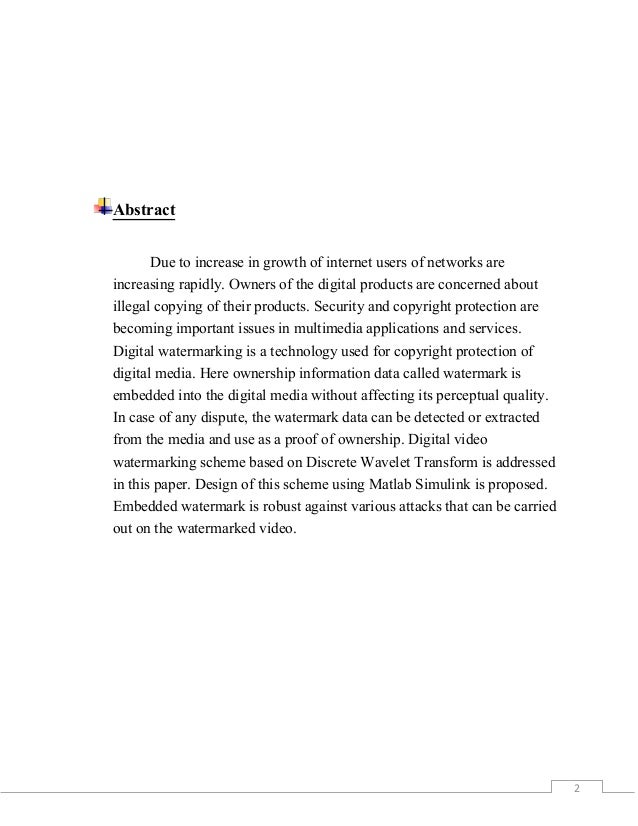 Abstract Of Dissertation