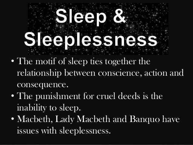 sleep motif in macbeth essay