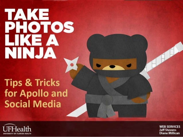 Take Photos Like a Ninja