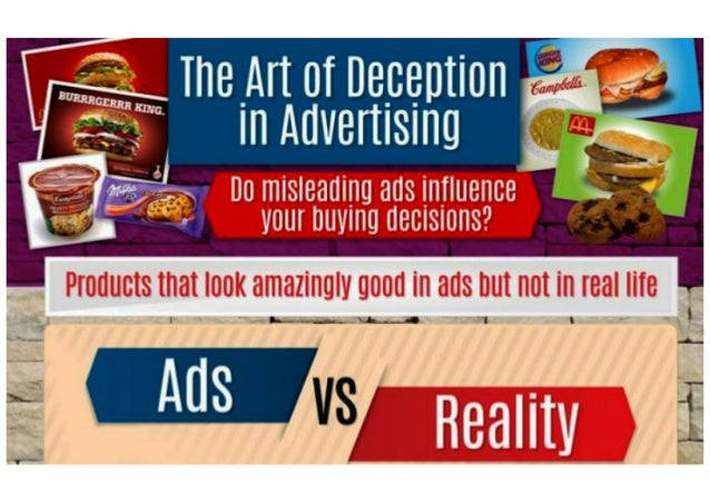 The Art Of Deception In Advertising