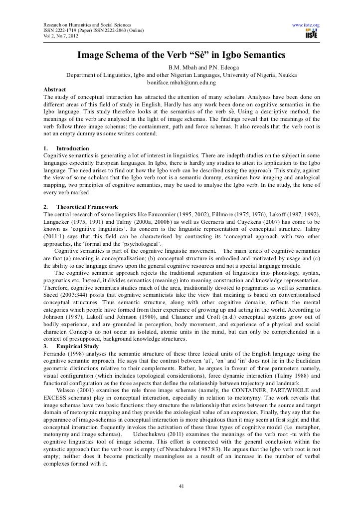 Research on Humanities and Social Sciences                                                              www.iiste.orgISSN ...