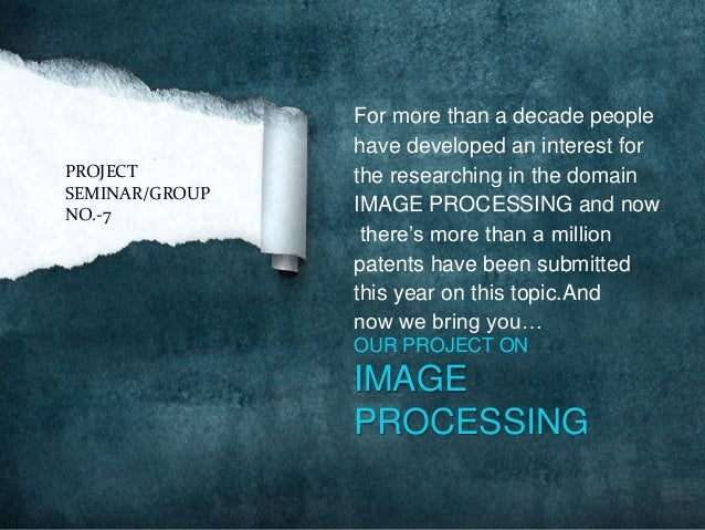 For more than a decade people                have developed an interest forPROJECT         the researching in the domainSE...