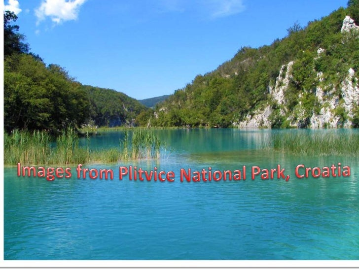 Images from Plitvice national park, Croatia