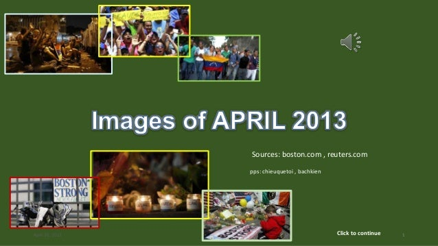 Images of APRIL 2013