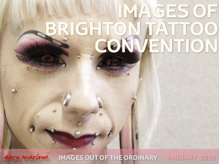 Images of the Brighton Tattoo Convention 2012