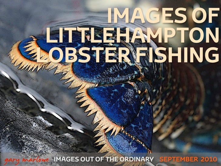 IMAGES OF             LITTLEHAMPTON            LOBSTER FISHING!    gary marlowe   IMAGES OUT OF THE ORDINARY SEPTEMBER 2010