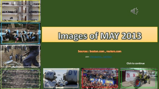 Images of MAY 2013