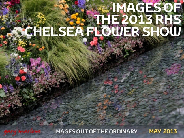 Images of the 2013 RHS Chelsea Flower Show