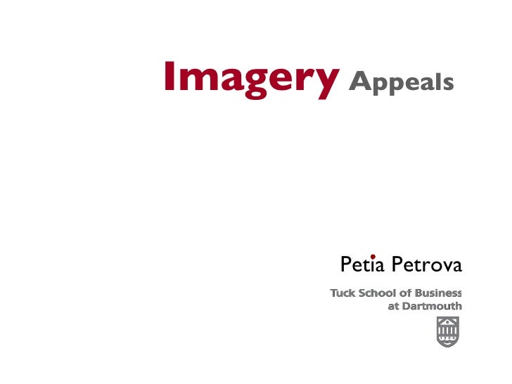 Imagery Appeals