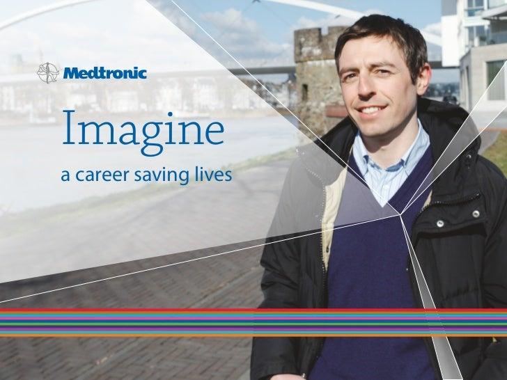 Imagine a career saving lives.......