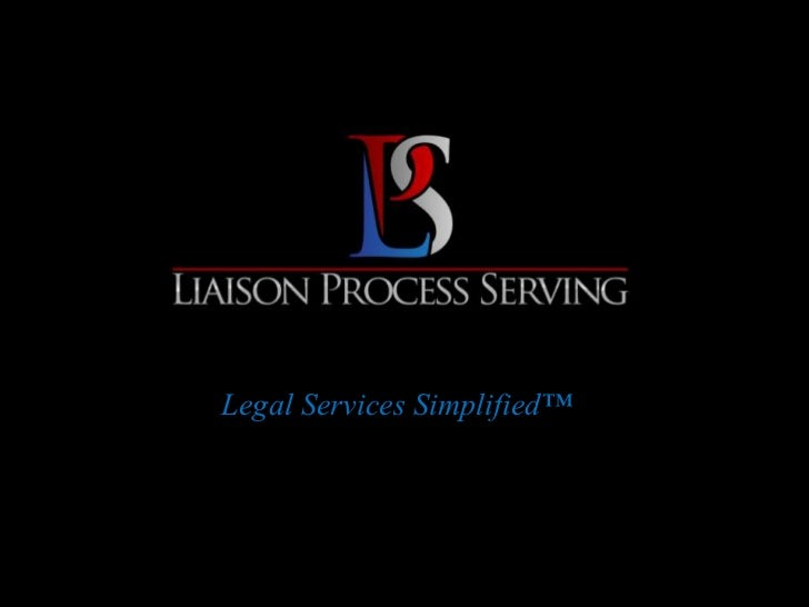 Legal Services Simplified™