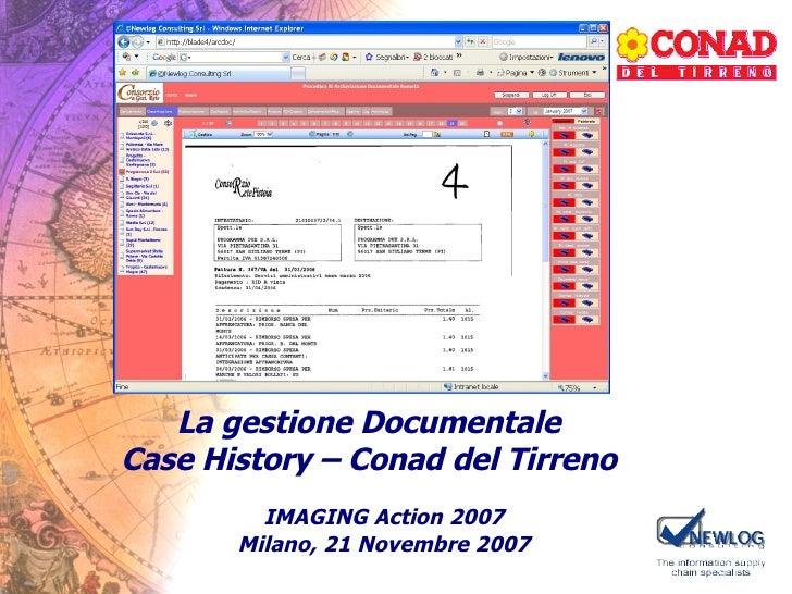 Imaging Action2007 Case History Conad Xtrata 21 11 2007