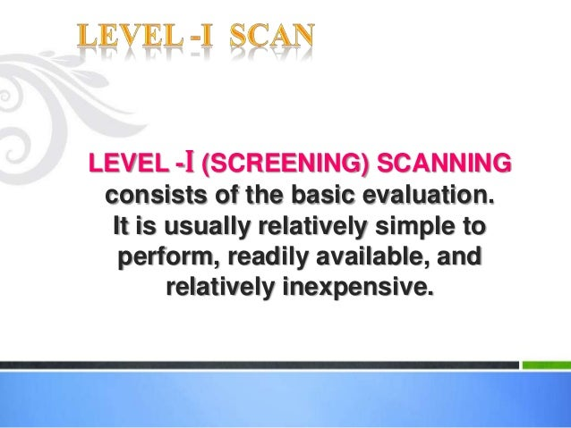 What is obstetric dating scan