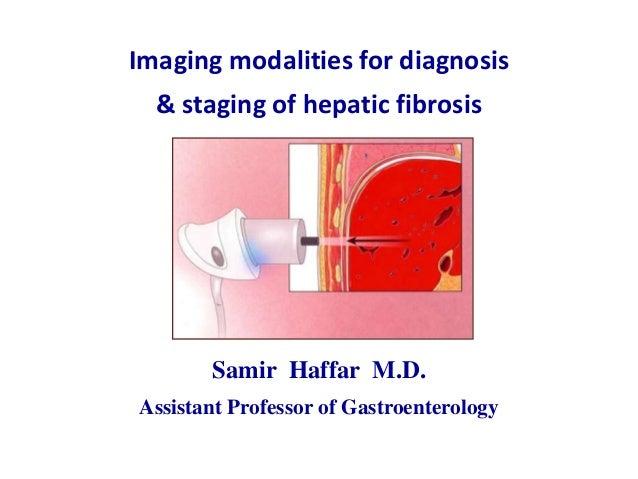 Imaging modalities for diagnosis& staging of hepatic fibrosisSamir Haffar M.D.Assistant Professor of Gastroenterology
