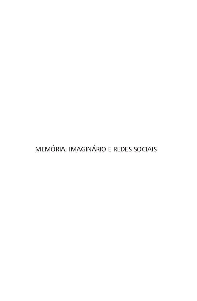 MEMÓRIA, IMAGINÁRIO E REDES SOCIAIS