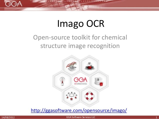 Imago Ocr Open Source Toolkit For Chemical Structure