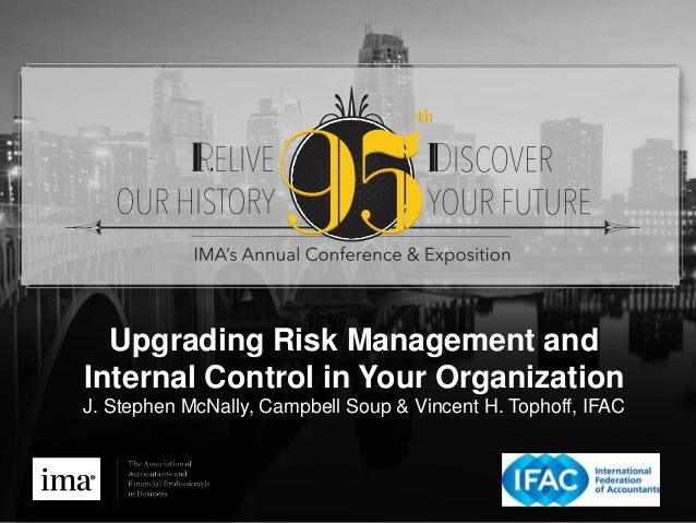 Upgrading Risk Management and Internal Control in Your Organization