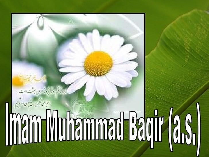 Imam Muhammad Baqir (a.s.)