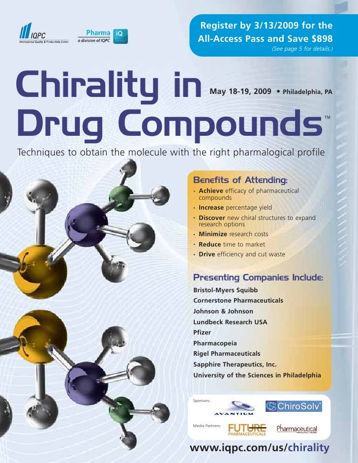 Chirality in Drug Compounds