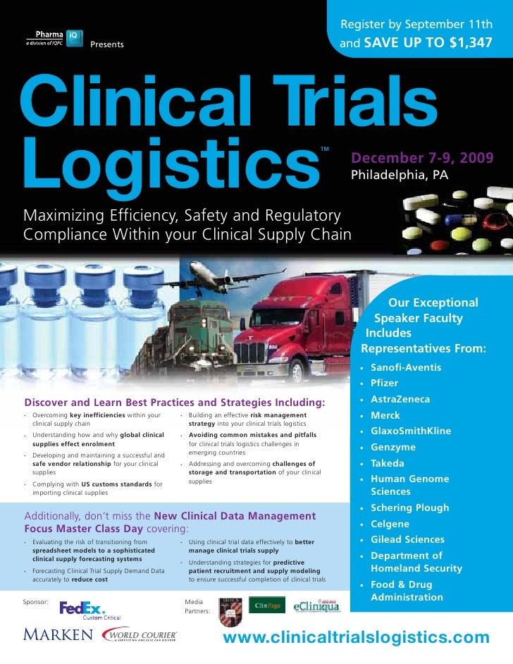 Clinical Trials Logistics