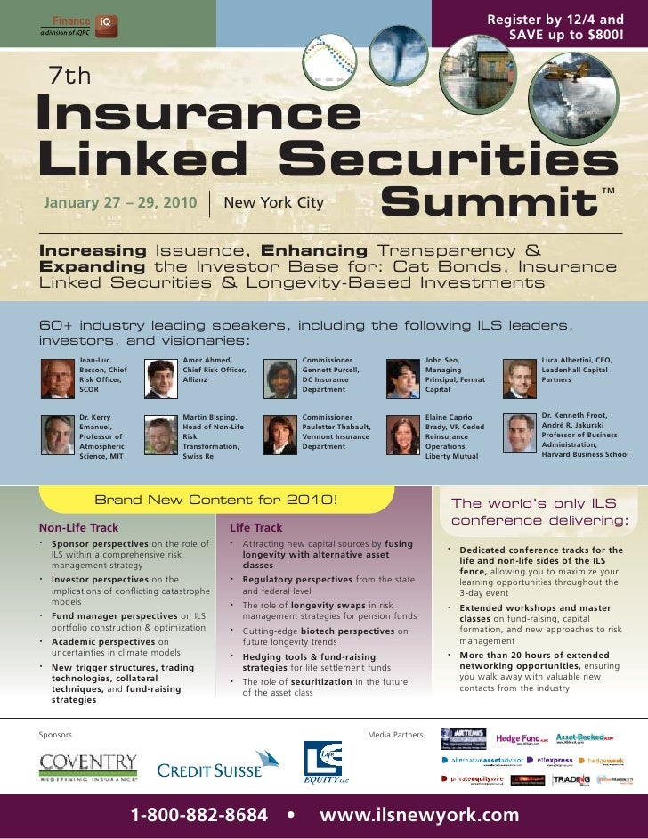 7th Insurance Linked Securities Summit
