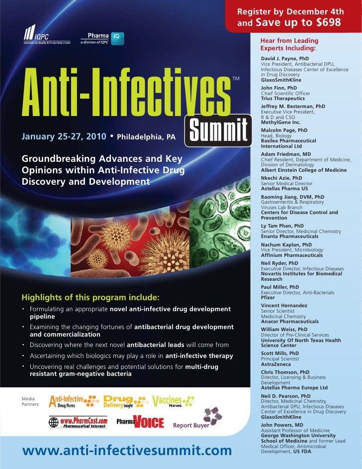 Anti-Infectives Summit