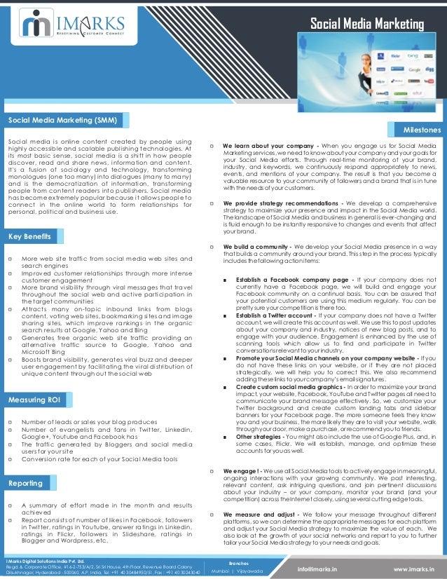 Social Media Marketing Social Media Marketing (SMM)                                                                       ...
