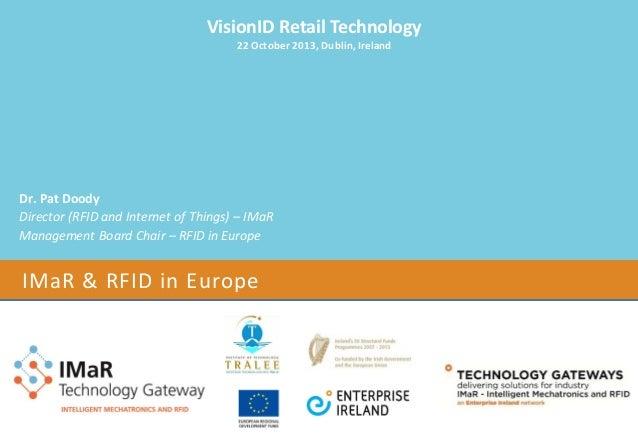 IMaR & RFID in Europe