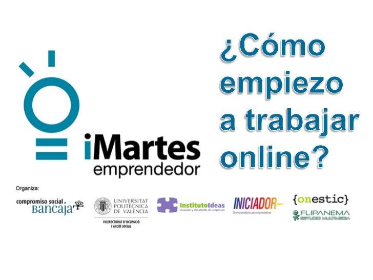 Marketing Online práctico en iMartes Emprendedor