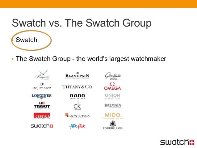 swatch swot Free essay: the birth of the swatch the swatch was well-known watch in the history of the watch industry when it came out at first, it was quite.