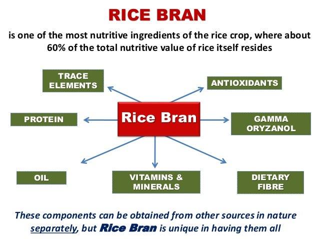 Tinh chất gạo lứt (Stabilized Rice Bran): một